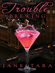 And my new novel, Trouble Brewing. Drink up!
